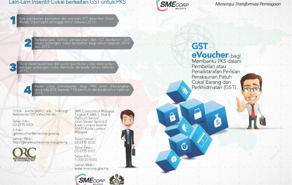 GST-eVoucher brochure (Malay)